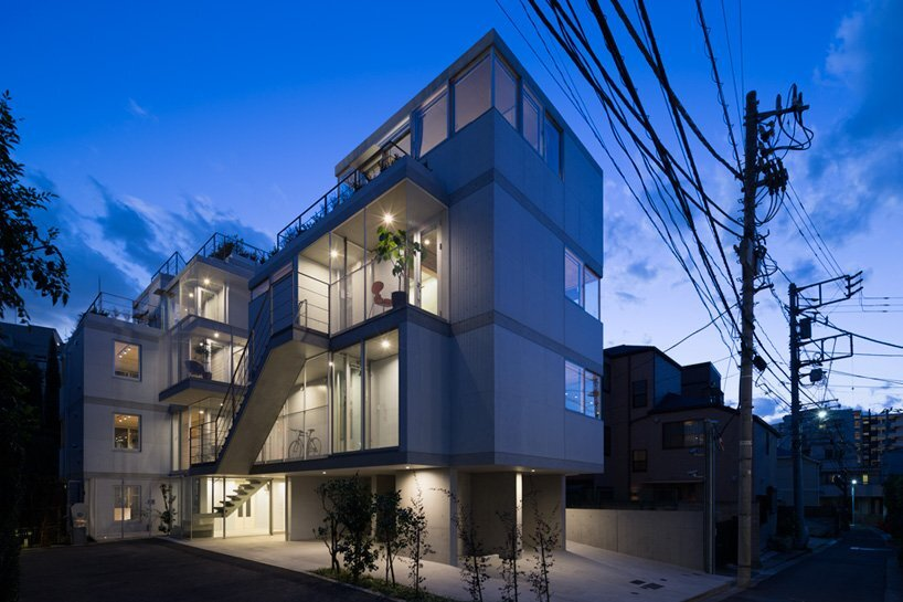 Apartment In Nishiazabu   SALHAUS   Small Apartments   Japan   Exterior    Humble Homes