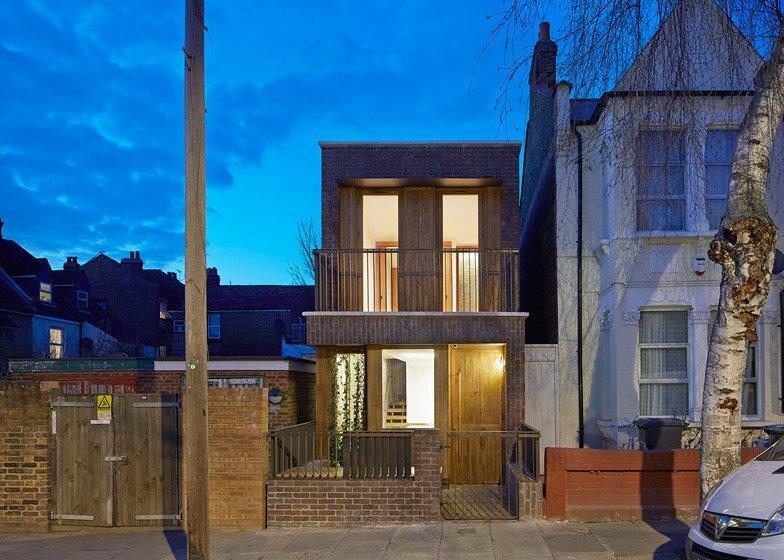 Haringey Brick House - Satish Jassal Architects - London - Exterior - Humble Homes