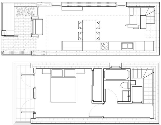 Haringey Brick House - Satish Jassal Architects - London - Floor Plans - Humble Homes