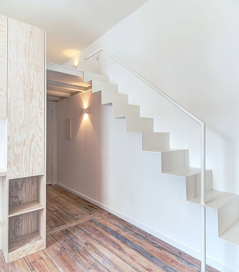 Micro-Apartment - Spamroom + John Paul Coss - Berlin - Staircase - Humble Homes