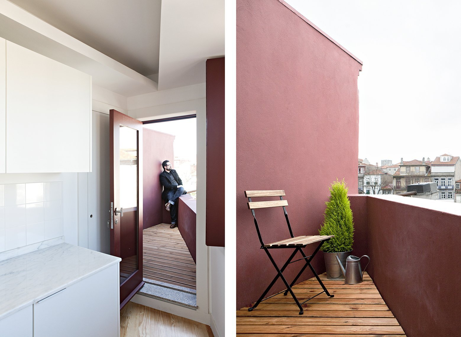 S. Victor Lofts - A2OFFICE - Portugal - Rooftop Deck - Humble Homes