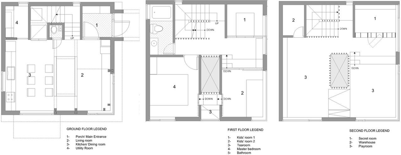 1st floor house plan definition. Star Wars House  Moon Hoon Korea Floor Plan Humble Homes by in