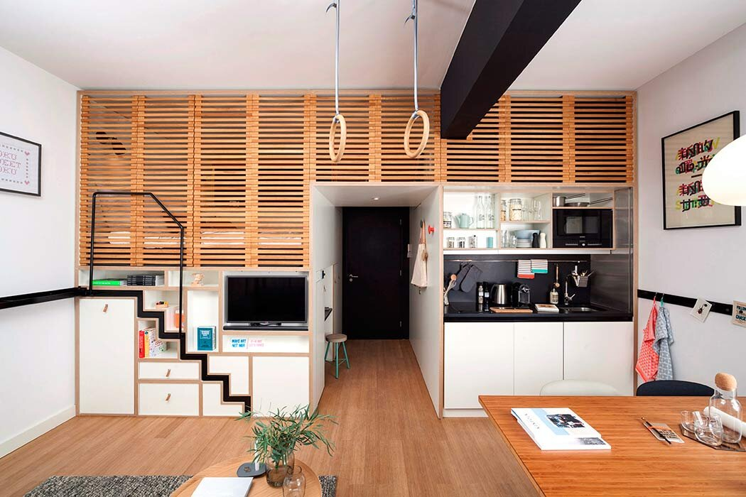 Zoku Loft - Concrete - Amsterdamn - Main Living Area - Humble Homes