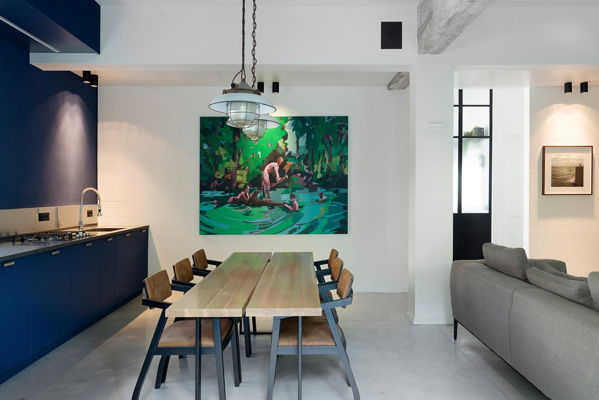 Bauhaus Apartment Redesign - Small Apartment - Studio Raanan Stern Architect - Tel Aviv - Kitchen - Humble Homes