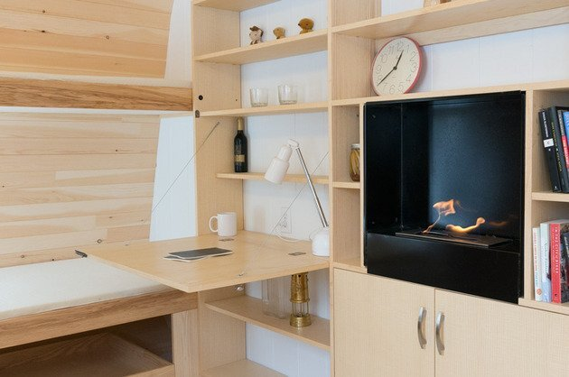 Collingwood Shepherd Hut - Tiny House - Gute - Canada - Storage - Humble Homes