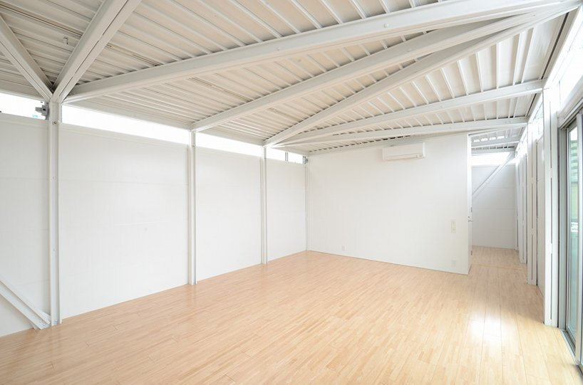 Prefab Steel House - Niji Architects - Tokyo - Bedroom - Humble Homes