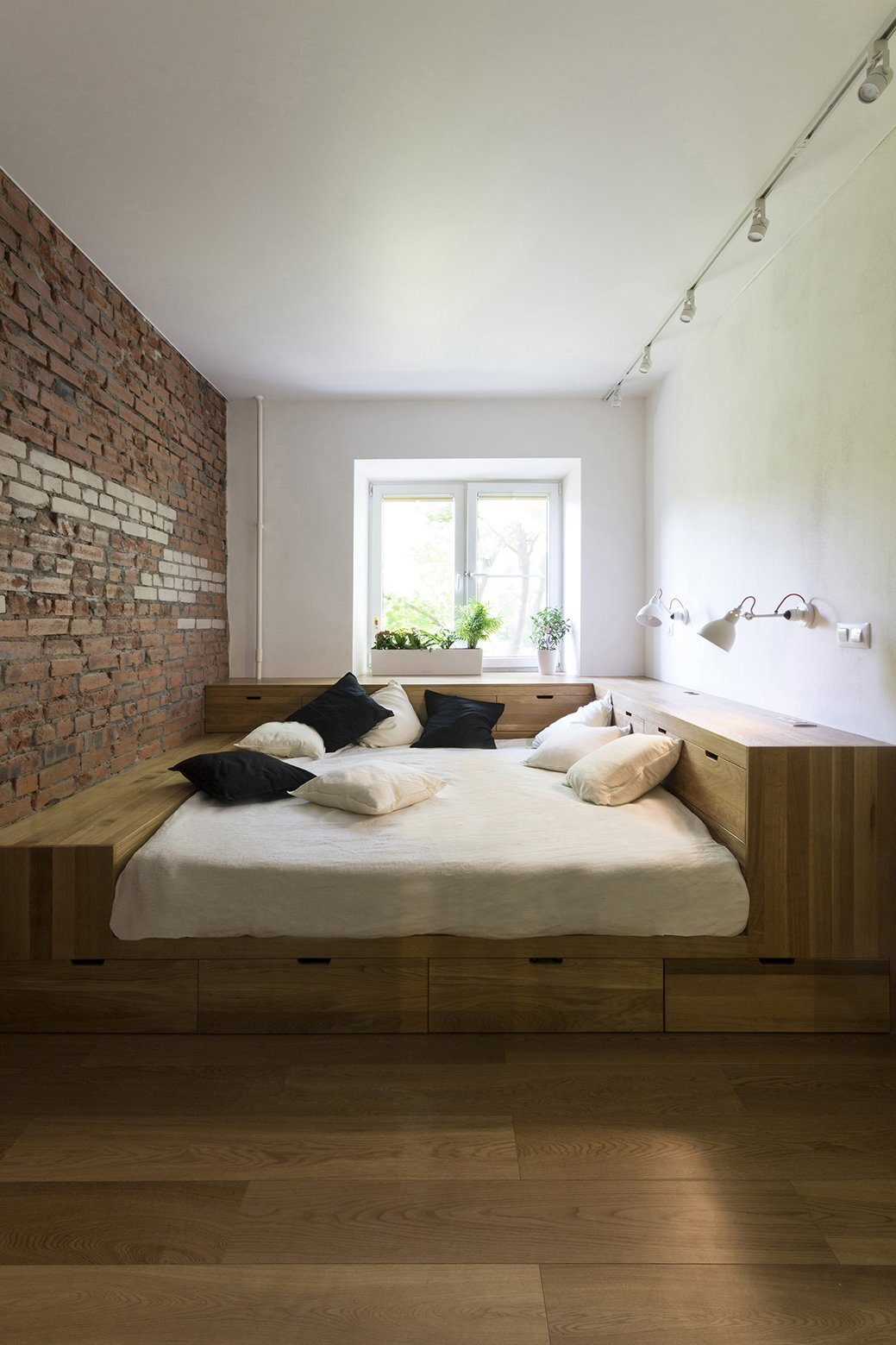 Small Apartment - Bagritsky - Ruetemple - Moscow - Bedroom - Humble Homes