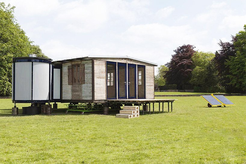 The Demountable House - Richard Rogers - Jean Prouvé - Exterior - Humble Homes