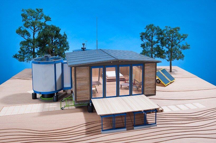 The Demountable House - Richard Rogers - Jean Prouvé - Model Exterior - Humble Homes