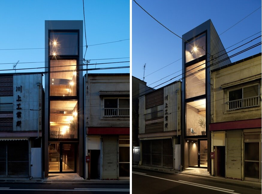 1.8m House - Tiny House - YUUA Architects - Tokyo - Exterior 1 - Humble Homes