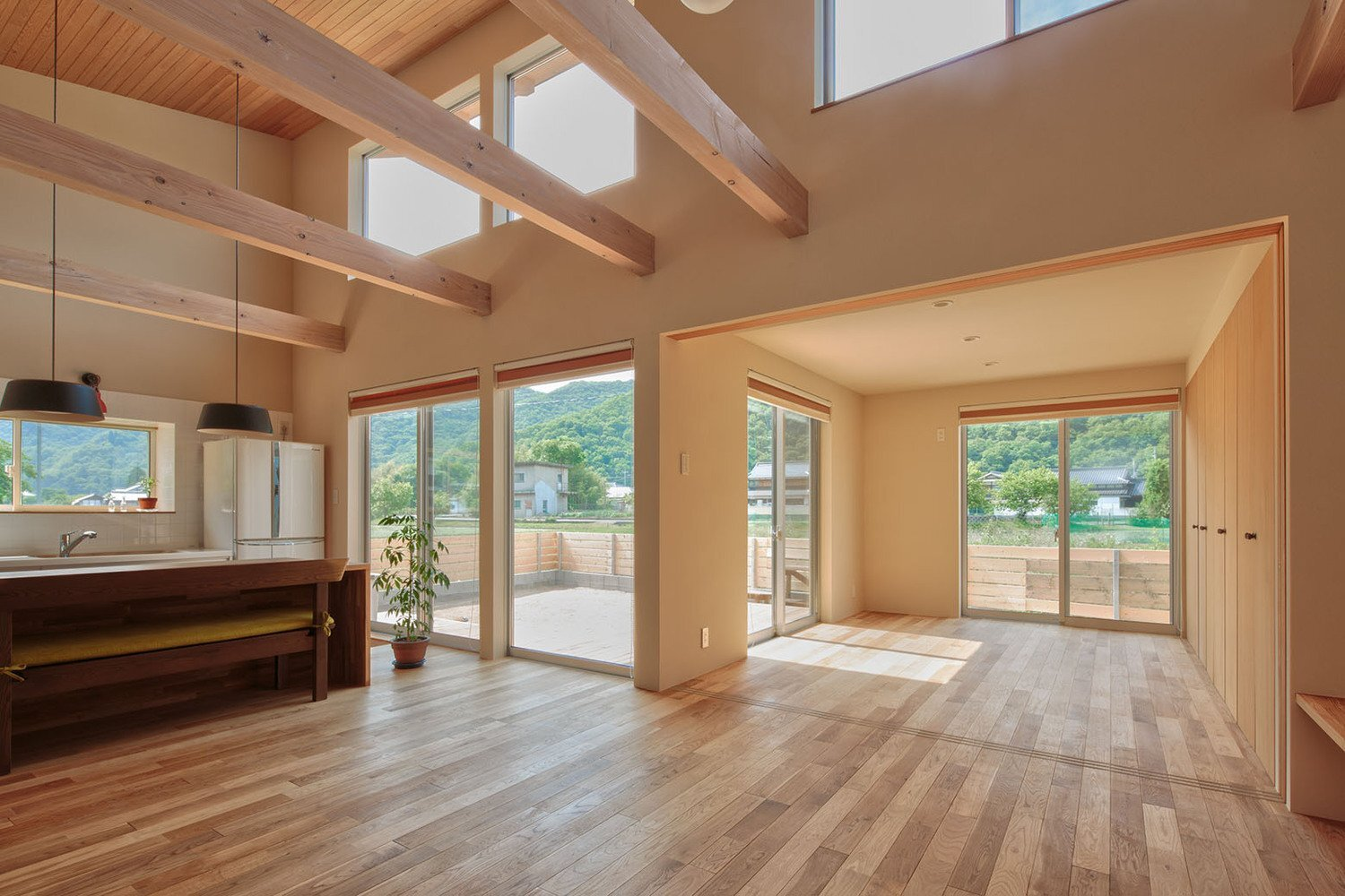 House in Yoshinaga - Tomoyuki Uchida - Japan - Living Areas 1 - Humble Homes