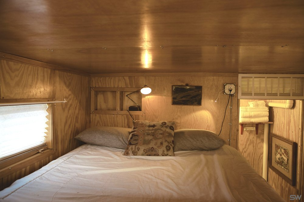 South Worth Living Spaces - Container Home - Bedroom