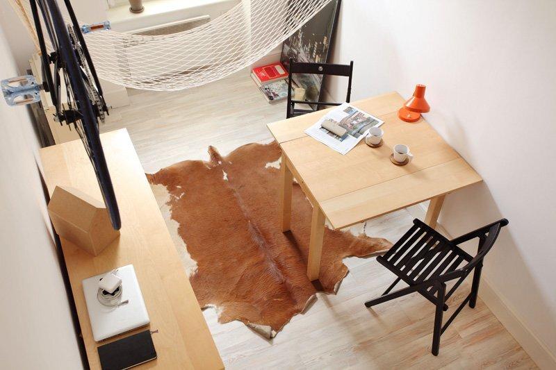 Tiny Apartment - Szymon Hanczar - Poland - Living Area  - Humble Homes