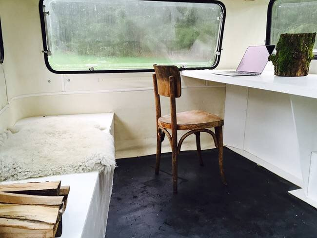 Tiny Caravan - KantoorKaravaan - The Netherlands - Interior - Humble Homes