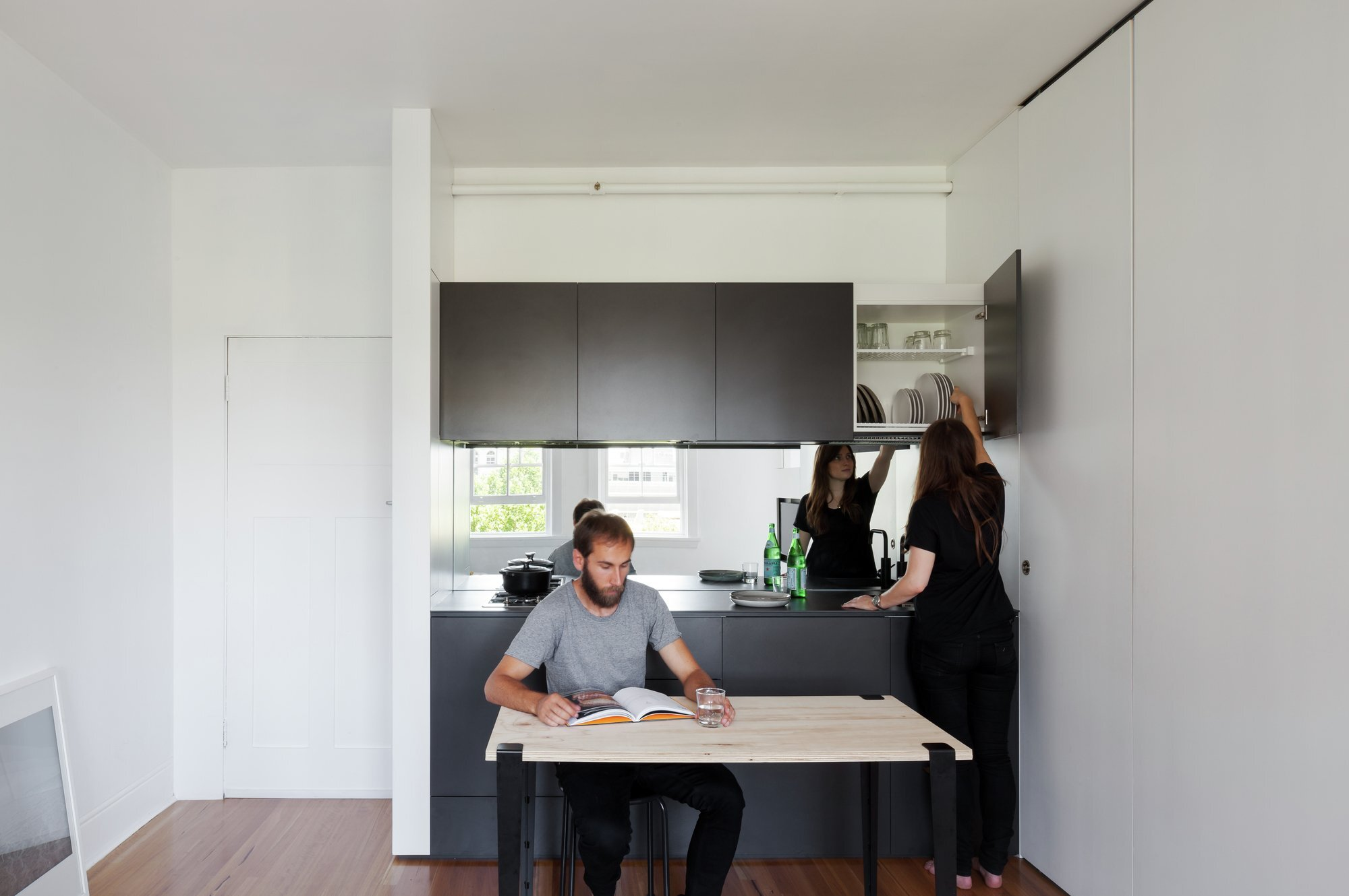 Darlinghurst Apartment - Brad Swartz Architect - Australia - Kitchen - Humble Homes