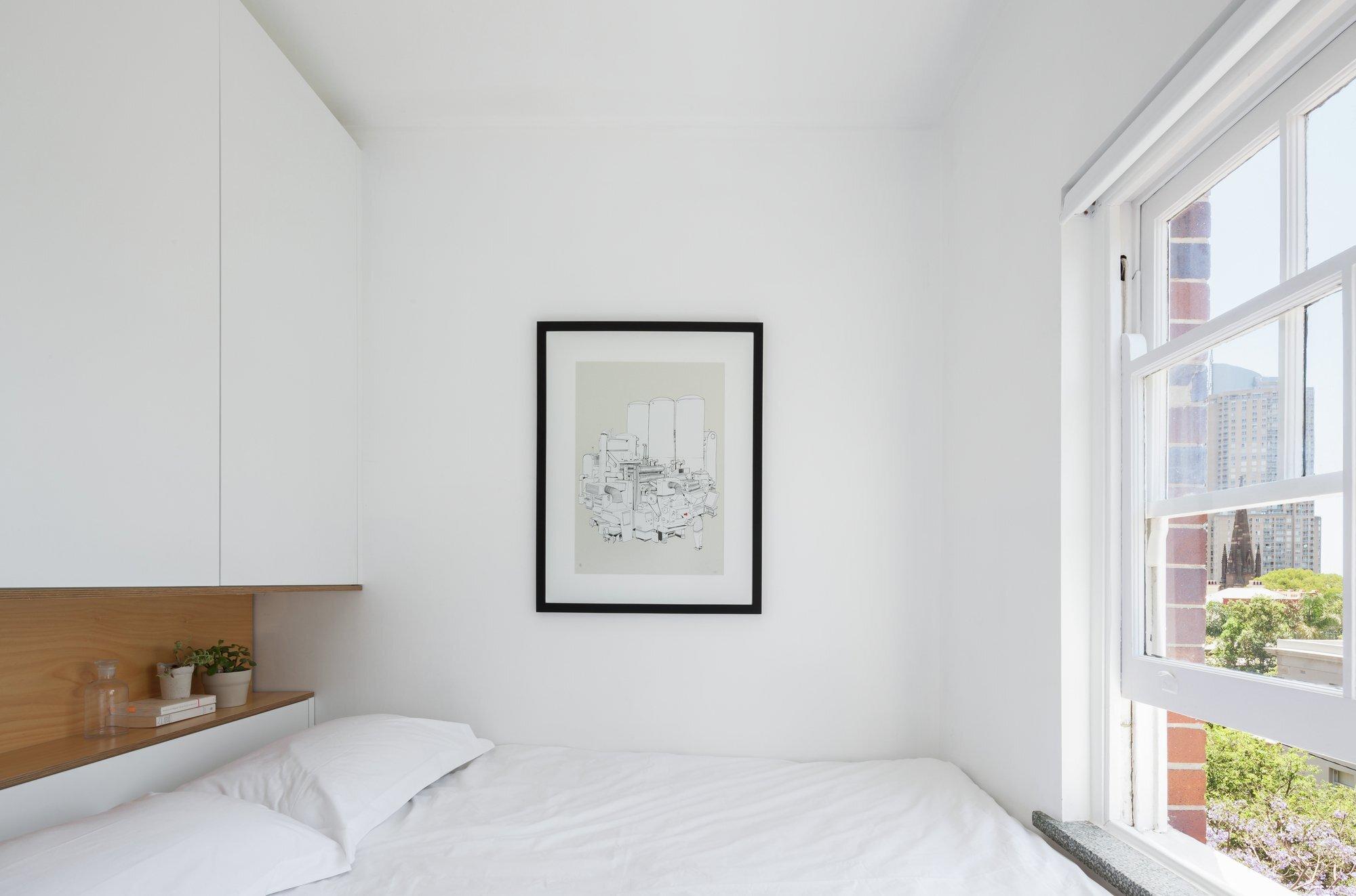 Darlinghurst Apartment - Tiny Apartment - Brad Swartz Architect - Australia - Bedroom - Humble Homes