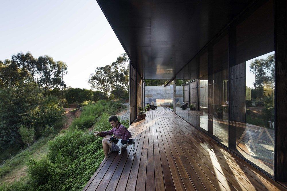 Sawmill House - Archier - Australia - Deck - Humble Homes