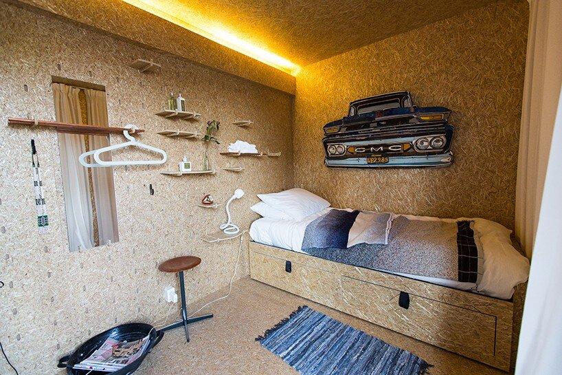 Sol Van Kempen - Sustainer Homes -Amsterdamn - Bedroom - Humble Homes