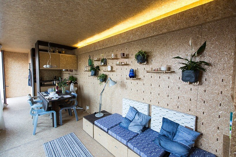 Sol Van Kempen - Sustainer Homes -Amsterdamn - Living Area - Humble Homes