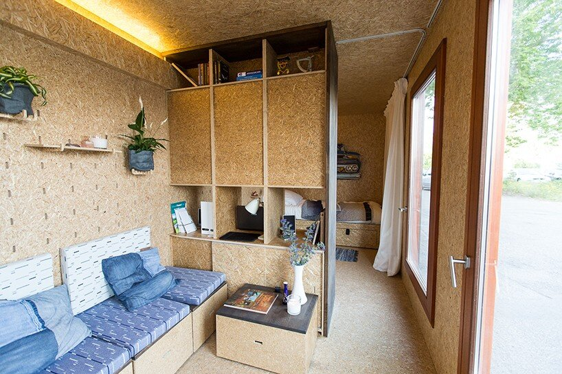Sol Van Kempen - Sustainer Homes -Amsterdamn - Living Area and Storage - Humble Homes