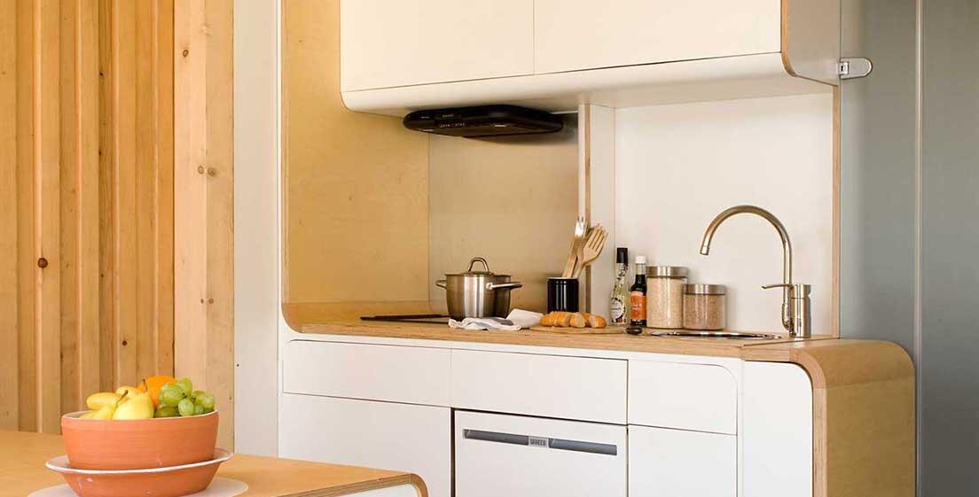 Studio Go - Tiny House - Noem - Barcelona - Kitchen - Humble Homes