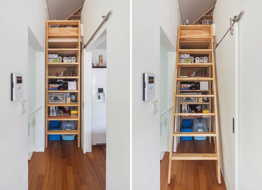 50m2 House - OBBA - Seoul - Staircase - Humble Homes