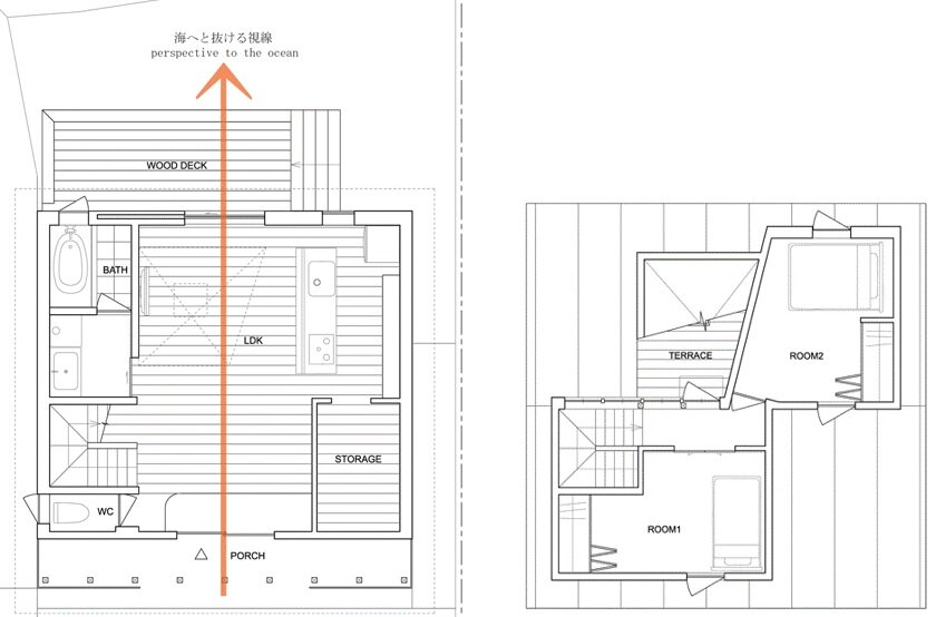 japanese house floor plans a small and simple family house on the japanese island of awaji 6085