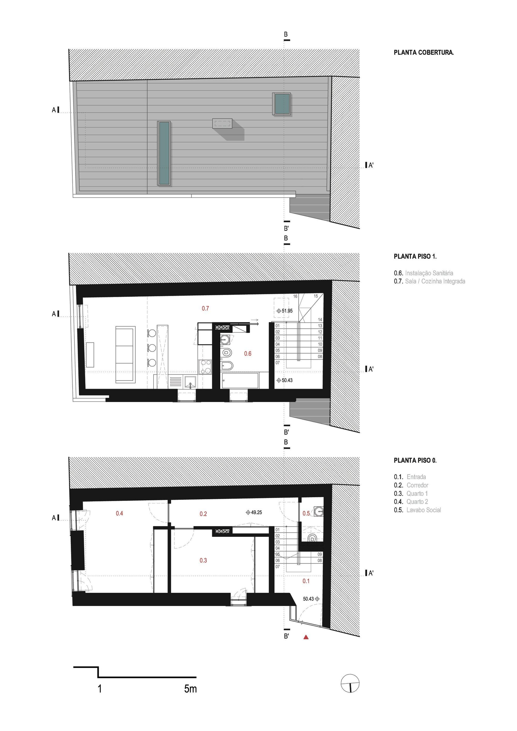 Family House Correnteza 21 - Humberto Conde - Portugal - Floor Plan - Humble Homes