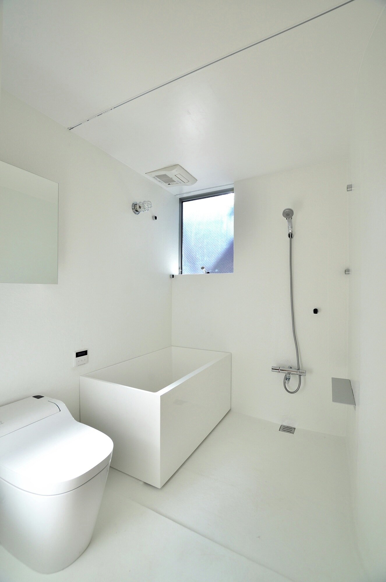 Townhouse in Takaban - Niji Architects - Tokyo - Bathroom - Humble Homes