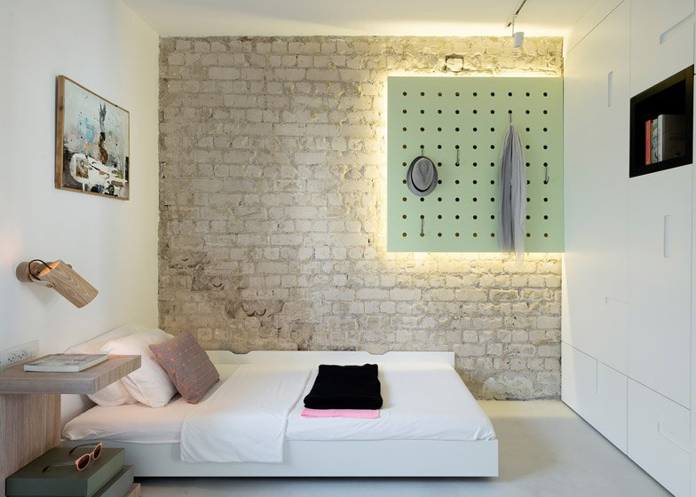 55 Metre Apartment - Maayan Zusman and Amir Navon - Tel Aviv - Bedroom - Humble Homes