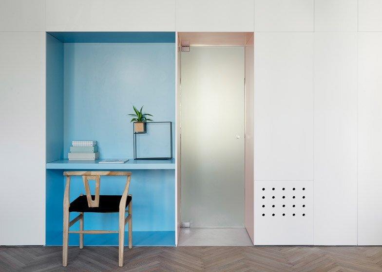 55 Metre Apartment - Maayan Zusman and Amir Navon - Tel Aviv - Work Station - Humble Homes
