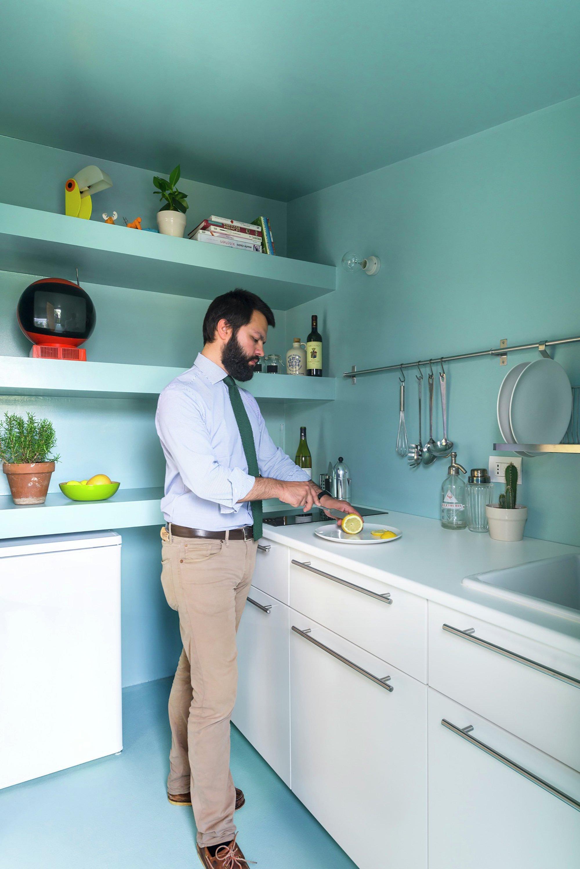 Batipin Flat - studioWOK - Italy - Kitchen - Humble Homes