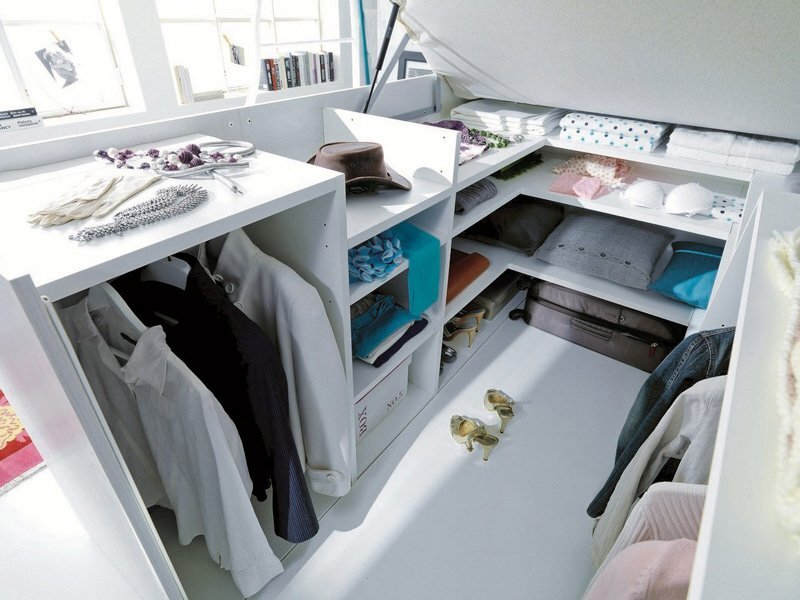 Bed with Storage - Dielle - Italy - Storage - Humble Homes