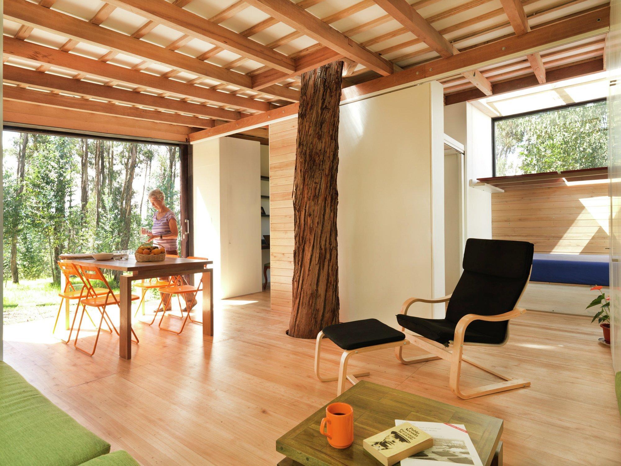 House Prototype - Luis Roldan Velasco + Ángel Hevia Antuña - Ecuador - Living Area - Humble Homes