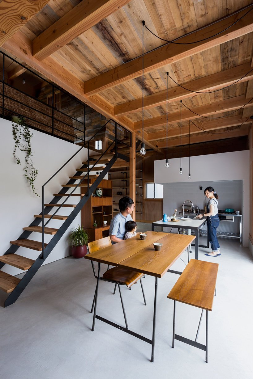 Ishibe House - ALTS Design - Japan - Kitchen and Dining Room - Humble Homes