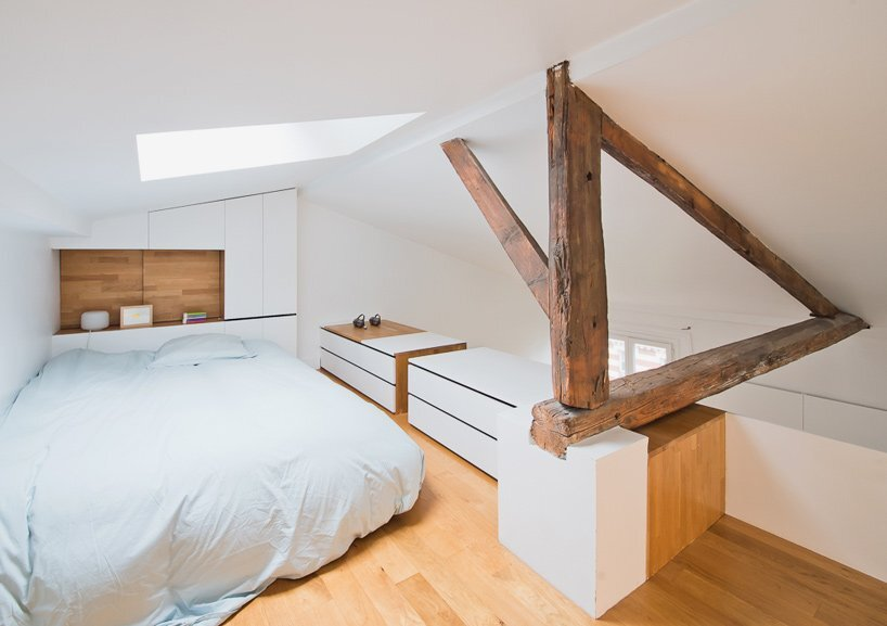 Paris Apartment Renovation - Sabo Project - Bedroom - Humble Homes