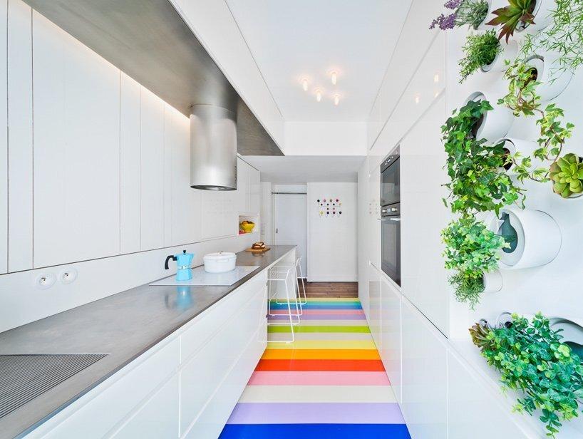 Paris Apartment Renovation - Sabo Project - Paris - Kitchen - Humble Homes