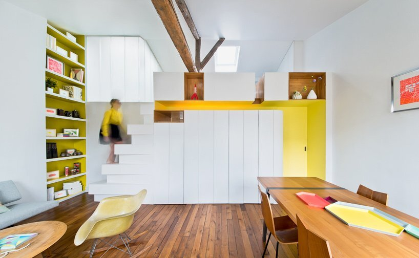 Paris Apartment Renovation - Sabo Project - Paris - Living Area - Humble Homes
