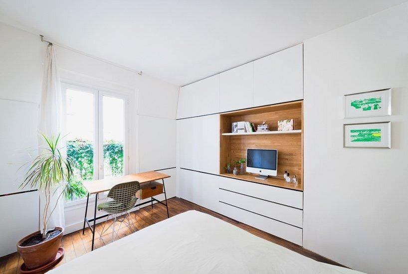 Paris Apartment Renovation - Sabo Project - Paris - Study - Humble Homes