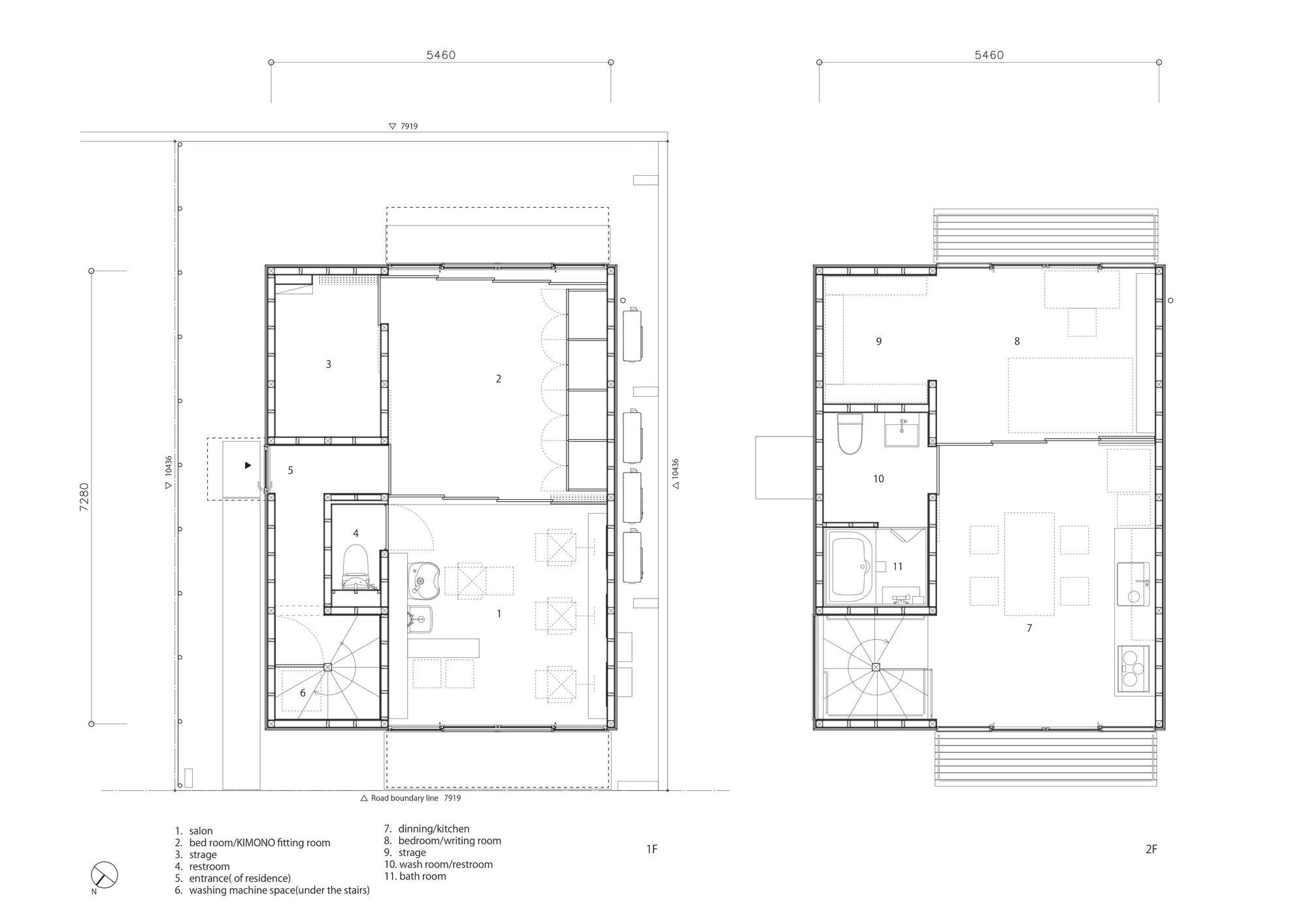 Wooden Box House - Suzuki Architects - Kawaguchi Japan - Floor Plan - Humble Homes