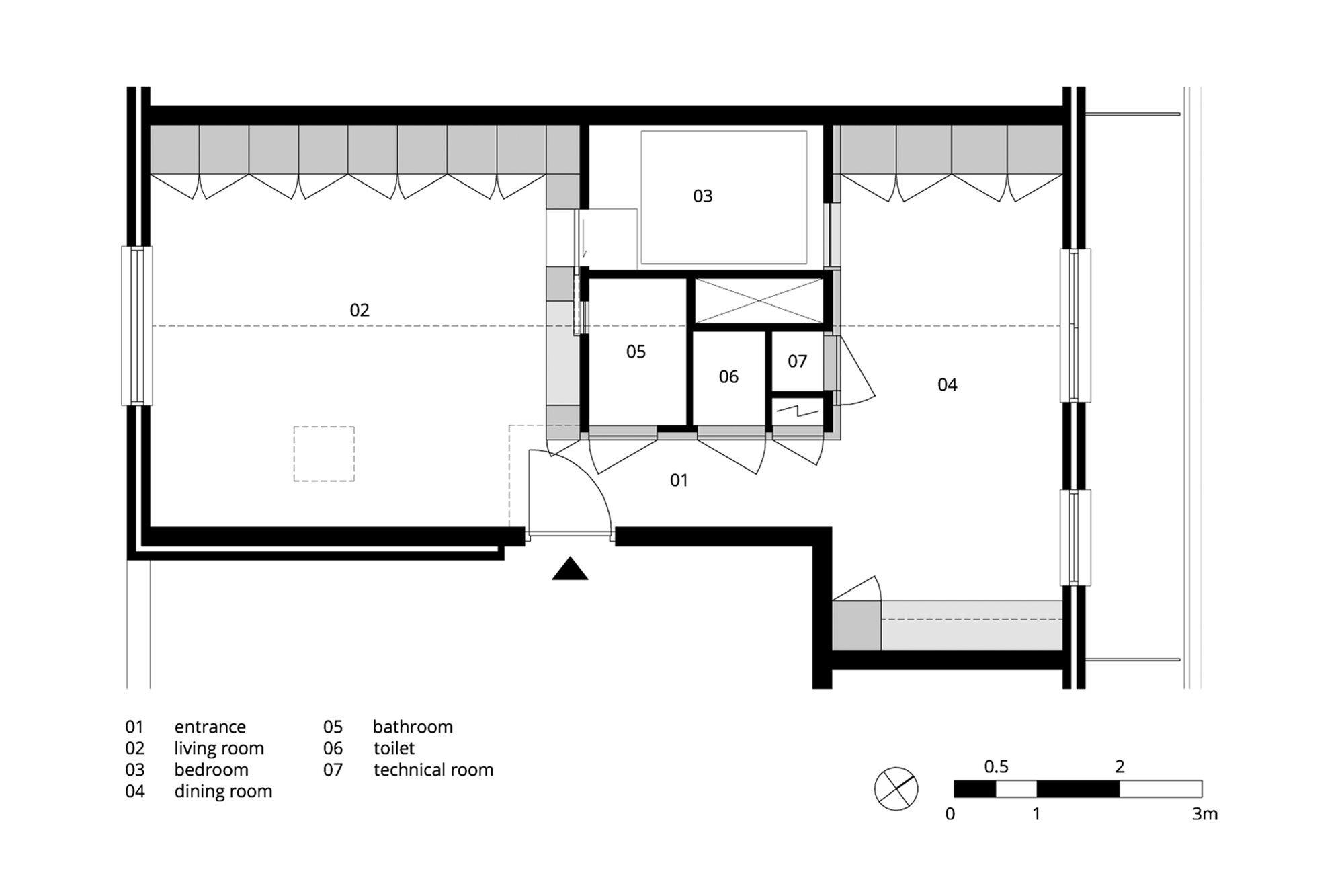 Amsterdam Urban Loft - Bureau Fraai - Amsterdam - Floor Plan - Humble Homes