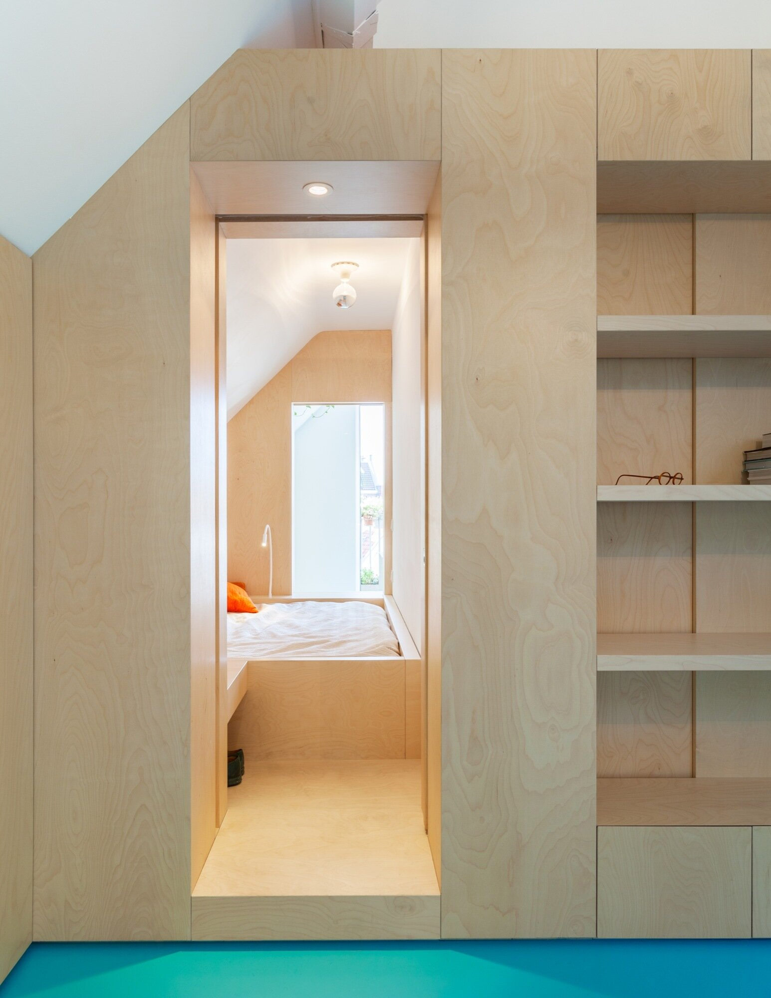 Amsterdam Urban Loft - Bureau Fraai - Amsterdam - Leading to Bedroom - Humble Homes