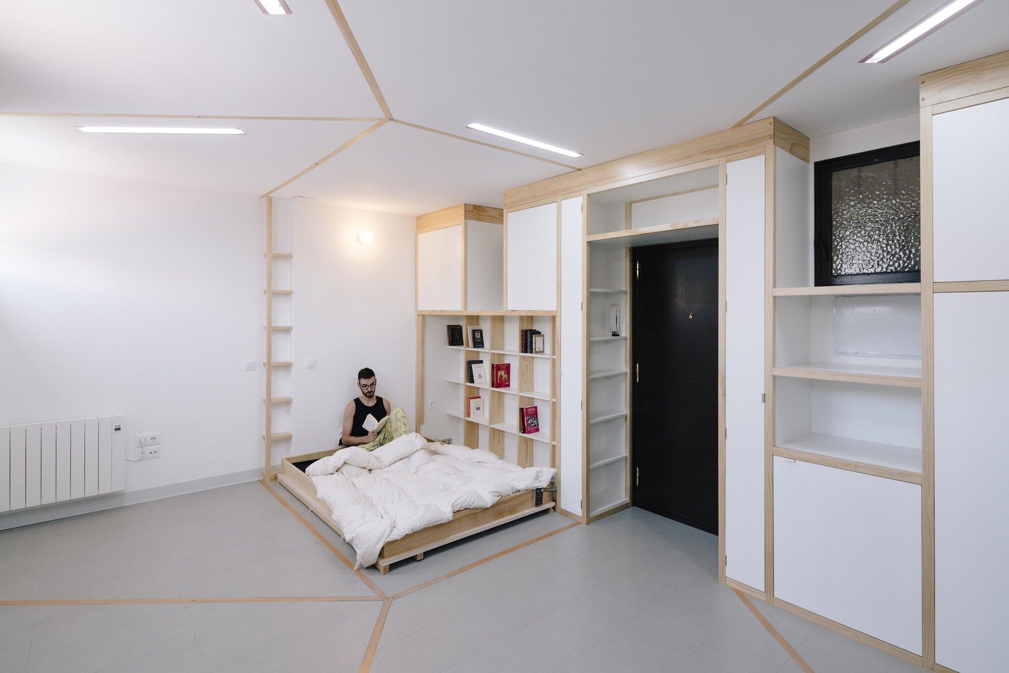 Biombombastic - elii - Spain - Fold-down Bed - Humble Homes