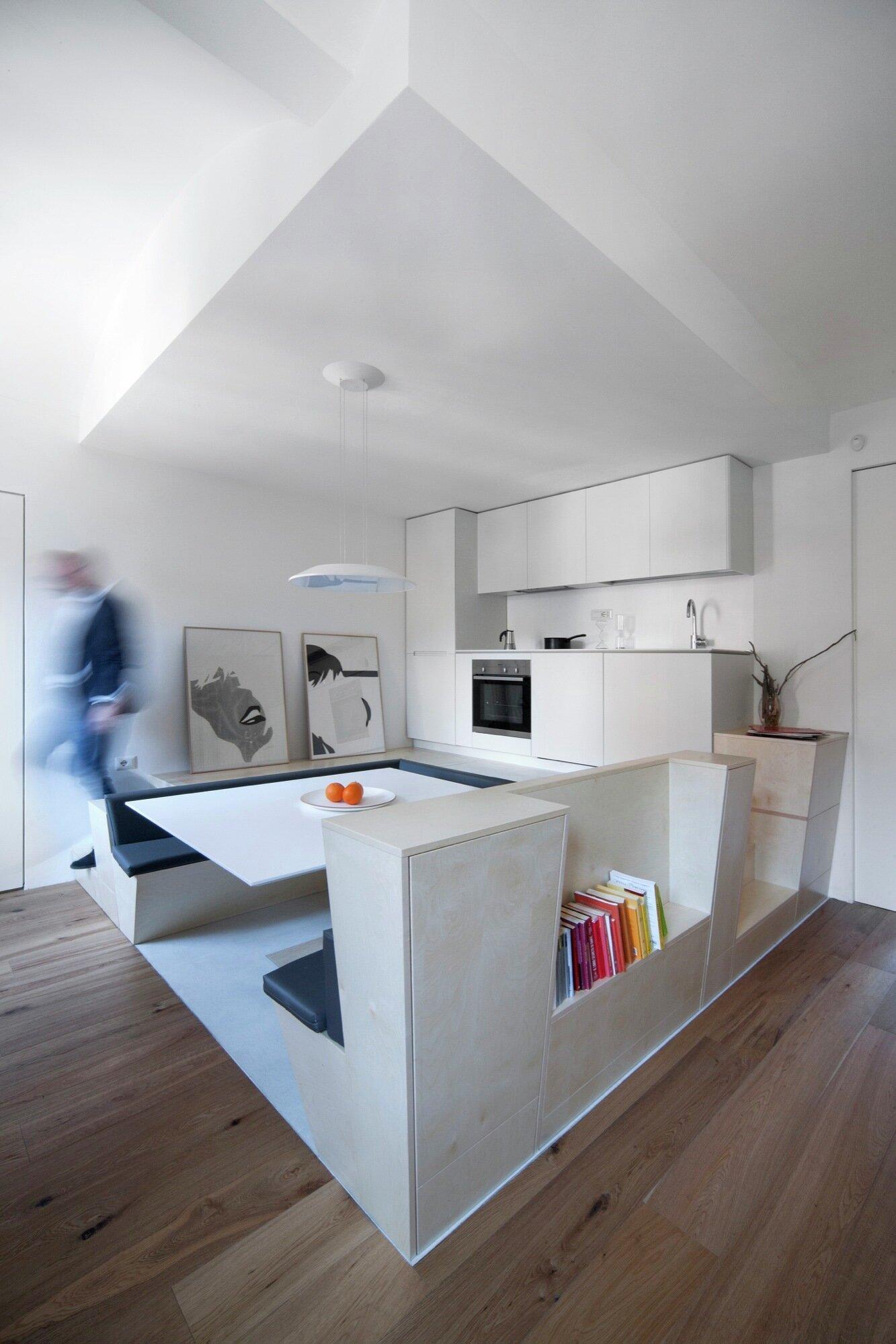 FERMI - BLA Ufficio di Architettura - Italy - Kitchen Dining Area - Humble Homes