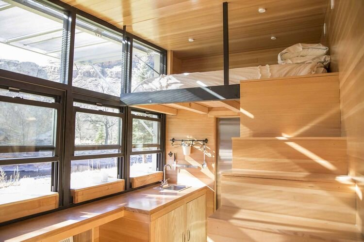 Atlas Tiny House On Wheels   F9 Productions   Longmont   Loft   Humble Homes