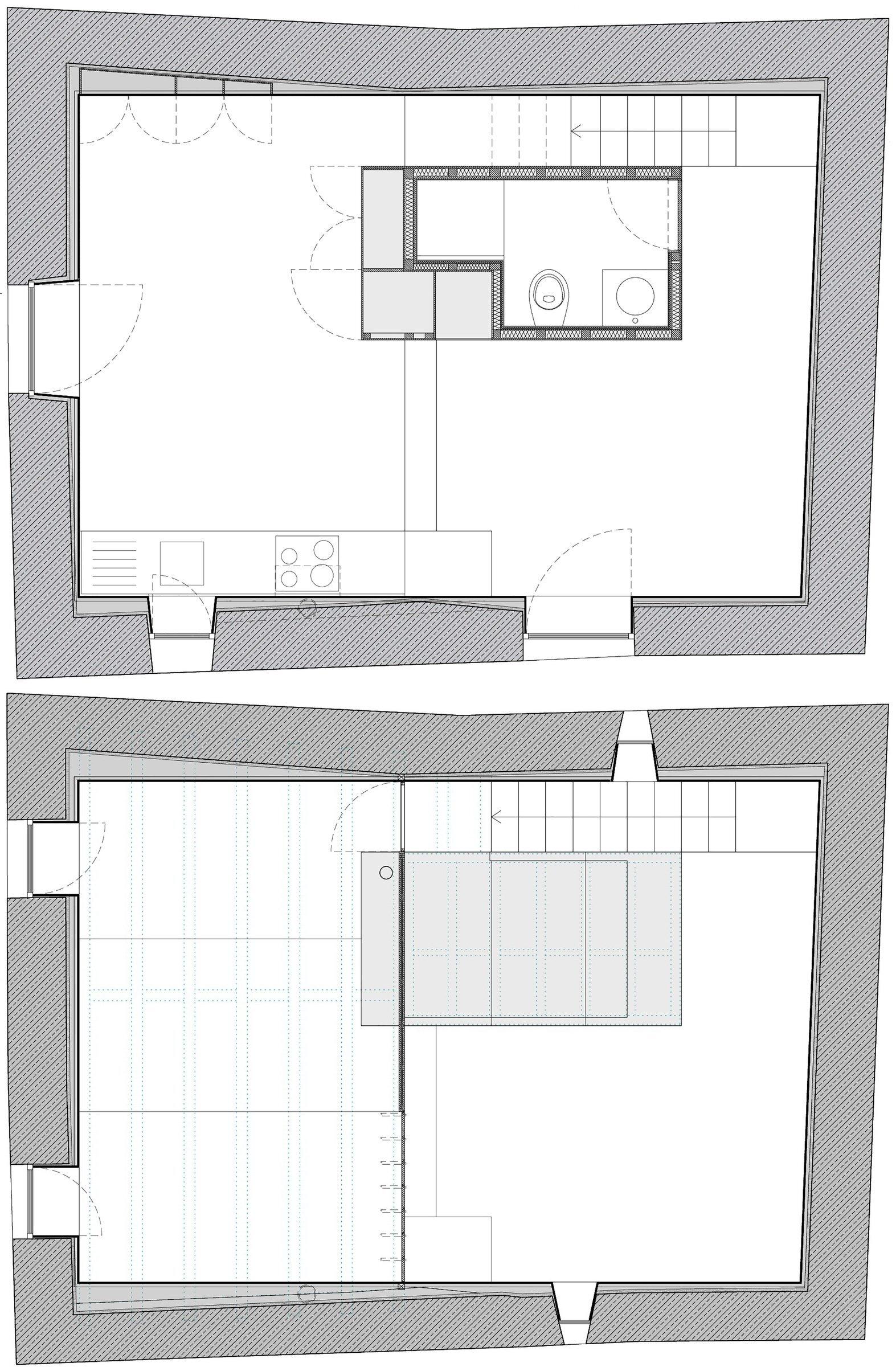 Nogueiras House - Sofia Parente + André Delgado - Portugal - Floor Plan - Humble Homes