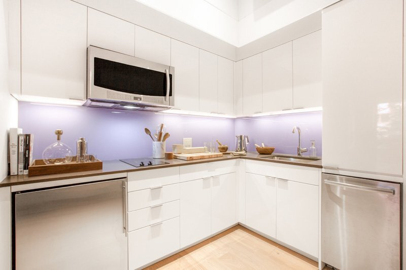 Ollie at Carmel Place - Micro Apartment - Stage 3 Properties - New York -Kitchen - Humble Homes