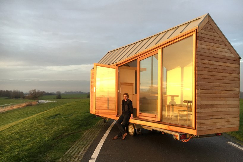 Porta palace a modern tiny house by dani l venneman and for Modern tiny homes on wheels