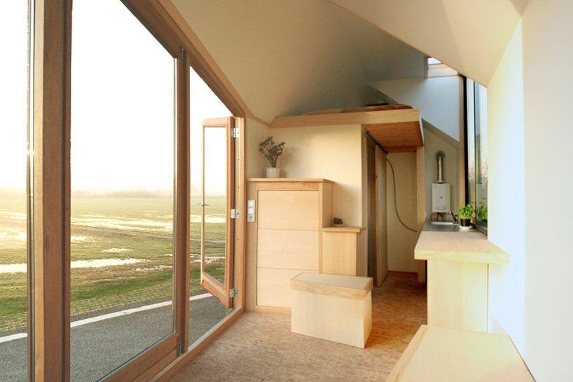 Porta Palace Tiny House - Daniel Venneman - The Netherlands - Living Area - Humble Homes