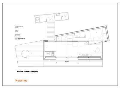 Tiny House on Wheels - Echo Livin - Greece - Floor Plan - Humble Homes